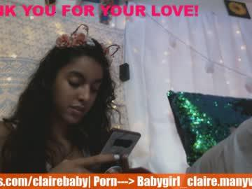 babygirl_claire's Recorded Camshow
